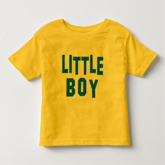 Big Boy and Little Boy Matching Tees