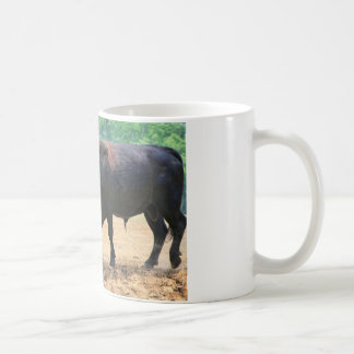 Big Boy Black Anqus Bull Coffee Mug