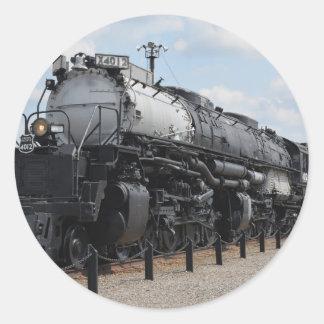 Big Boy No. X4012 Classic Round Sticker