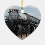 Big Boy No. X4012 Double-Sided Heart Ceramic Christmas Ornament