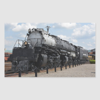Big Boy No. X4012 Rectangular Sticker