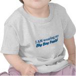 Big Boy Pants Text Design T-shirt