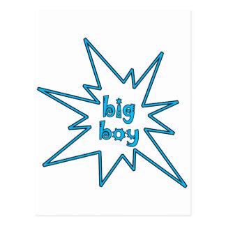 Big Boy Postcard