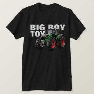 """Big Boy Toy"" with Green Farm Tractor T-Shirt"