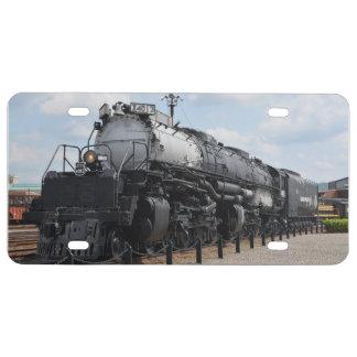 Big Boy X4012 License Plate