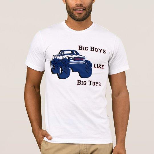 Big Boys Like Big Toys T Shirt Zazzle Com