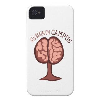 Big Brain On Campus iPhone 4 Case-Mate Case