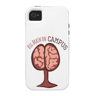 Big Brain On Campus Vibe iPhone 4 Cover