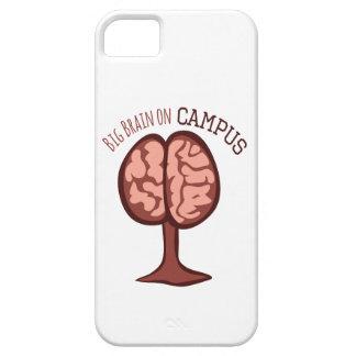 Big Brain On Campus iPhone 5 Cases