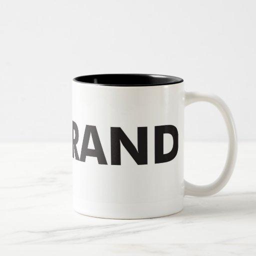 Big Brand Mug Black