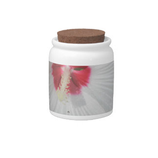 Big Bright Flower Candy Jar