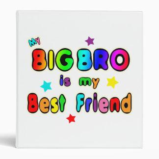 Big Bro Best Friend 3 Ring Binder