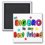 Big Bro Best Friend Magnet