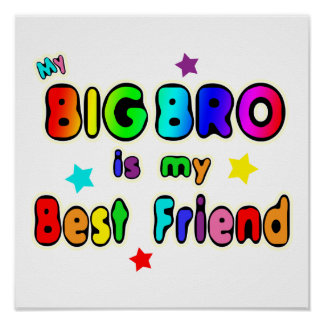 Big Bro Best Friend Poster