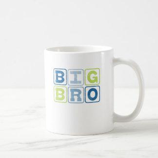 BIG BRO - Big Brother Block Lettering Coffee Mug