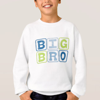 BIG BRO - Big Brother Block Lettering Sweatshirt