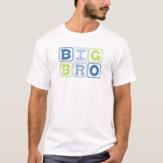 BIG BRO - Big Brother Block Lettering T-Shirt