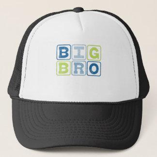 BIG BRO - Big Brother Block Lettering Trucker Hat