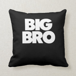 Big bro big brother throw pillow