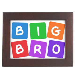Big Bro custom keepsake box