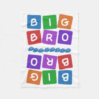 Big Bro custom name fleece blanket