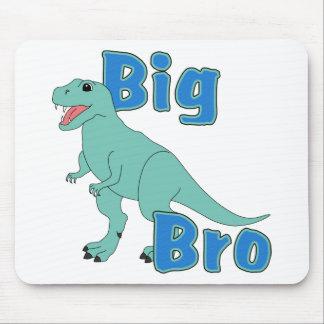 Big Bro Green Dinosaur Mousepads