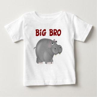 Big Bro Hippo Baby T-Shirt