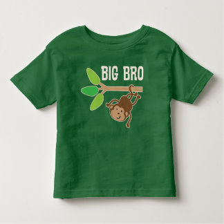 Big Bro Monkey Brother Boys T-shirt
