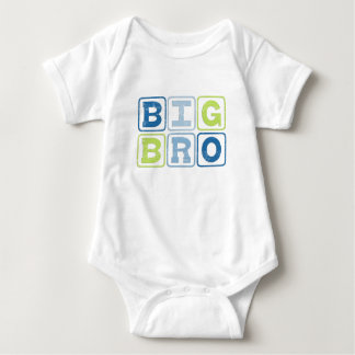 BIG BRO OUTLINE BLOCKS BABY BODYSUIT