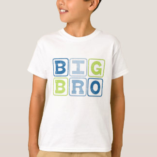 BIG BRO OUTLINE BLOCKS T-Shirt