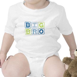 BIG BRO OUTLINE BLOCKS T SHIRTS