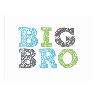 Big Bro Postcard