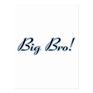 Big Bro! Postcard