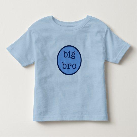 Big Bro Ringer Toddler T-shirt