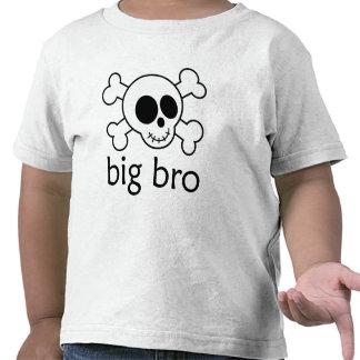 Big Bro Skull and Crossbones T-shirts