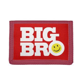 Big bro smile tri-fold wallet