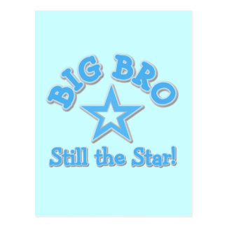 Big Bro Still the Star Tshirts and Gifts Postcard