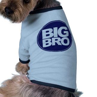 big bro t-shirt mix and match design doggie tee shirt
