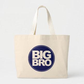 big bro t-shirt mix and match design large tote bag
