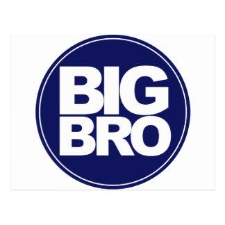 big bro t-shirt mix and match design postcard