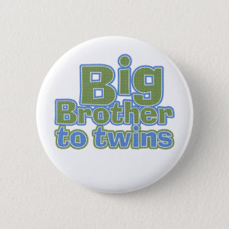 Big Bro - Twins Pinback Button
