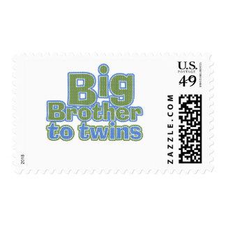 Big Bro - Twins Stamp