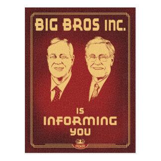 Big Bros Postcard