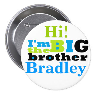 big brother 3 inch round button