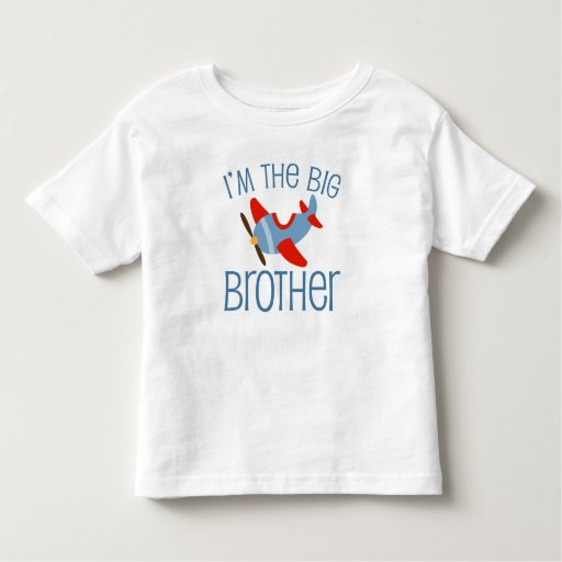 Big Brother Airplane Toddler T-shirt