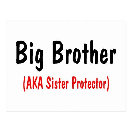 Big Brother (AKA Sister Protector) Postcard
