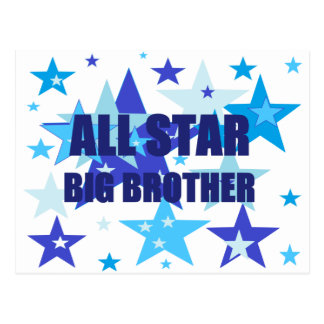 Big Brother All Star Postcard