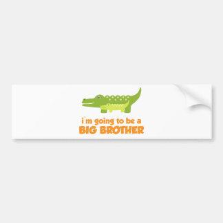 Big Brother Alligator T-shirt Bumper Sticker