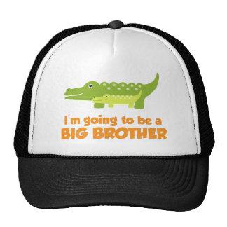 Big Brother Alligator T-shirt Trucker Hat