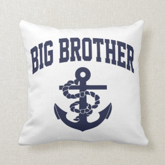 Big Brother Anchor Throw Pillow